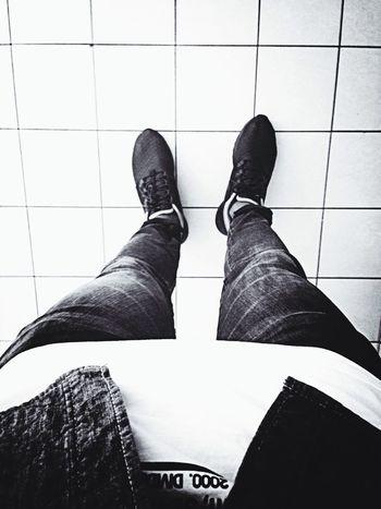 Street Fashion Black And White Hello :)