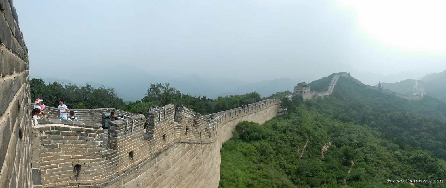 Great Wall Of China Badaling China Travel Photography Taking Photos Old Monuments Historical Building 7th Wonder Of World