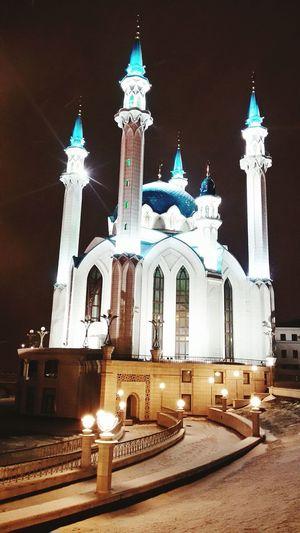 Мечеть Кол Шериф в казанском Кремле.