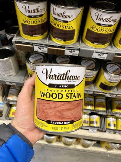 Varathane wood