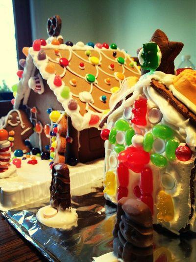 My gingerbread neighborhood!