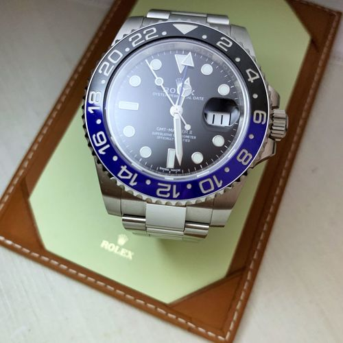 Do you want a Rolex? Luxurywatches Luxury GMT Gmtmaster2 Rolex Time Clock Minute Hand Wristwatch Watch