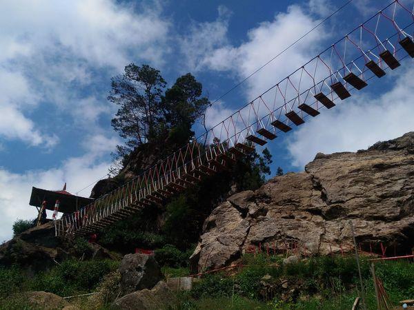 Jembatangantung Bridge Justshoot Enjoying The View Diengplateau Dieng Indonesia EyeEm Gallery EyeEm Best Shots EyeEm