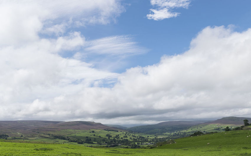 Yorkshire Beauty In Nature Cloud - Sky Field Hillside Hillside View Landscape Nature Outdoors Rural Scene Scenics Sky Tranquil Scene Tranquility