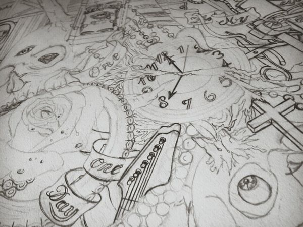 W.i.p 1 Tattoo Dessin Drawing