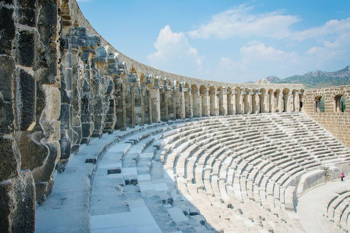 Aspendos TheatrePopular Photos Eye4photography  EyeEm Best Edits Architecture EyeEm Best Shots Antique Theatre EyeEmBestPics Antalya Old Buildings EyeEm Gallery EyeEmbestshots Architectural Detail Theatre