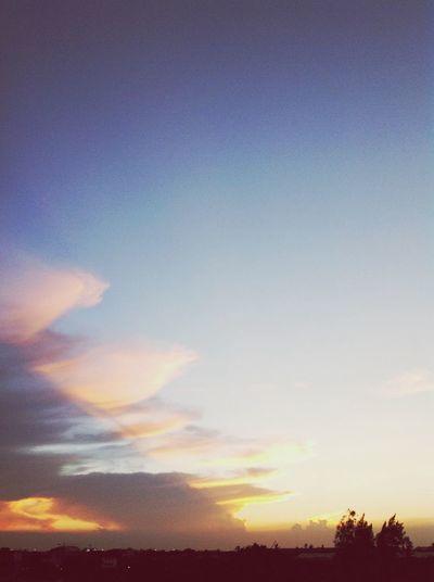 Sunset Hello World