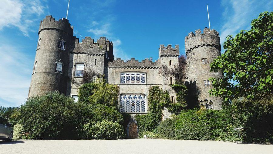 Castle Ireland Malahide  Malahide Castle Tree Sky Architecture Built Structure Cloud - Sky