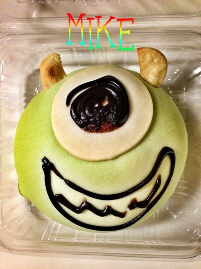 Monsters INC Sweet Roll Funny Yummy