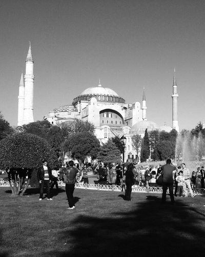 Blackandwhite Black And White Istanbul WeAreJuxt.com Ayasofya Eye4photography