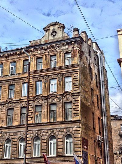Saintpétersbourg Sanpietroburgo Architecture Urban Old Buildings Buildings & Sky Russia, St.Petersburg Saint Petersburg City Old Building