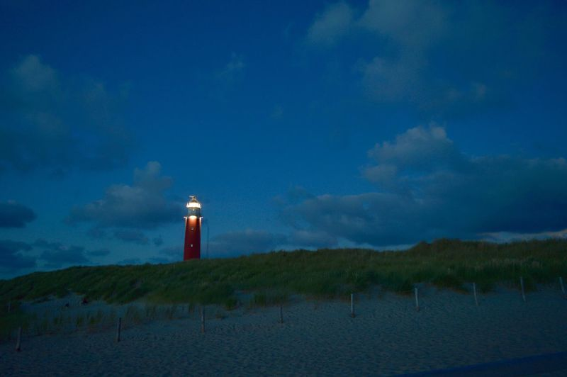 Texel  Lighthouse Nighttime