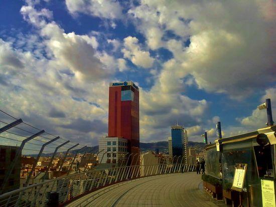 Las Arenas, Barcelona Relaxing Hi! Hello World Colorful Spain♥ Samsungphotography Samsung Galaxy Express