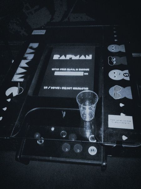 Interactive drinks tables Technology Close-up Pacman Rapman Videogames Videogame  Retro Retro Styled Retro Style Arcade Games Arcade Drinking Glass Drinking Beer Pub Bar
