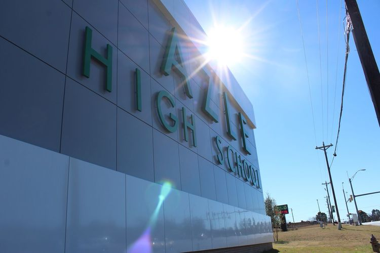 Our new CTE building Highschool Cte Photography School New Building Azle Hornet Reflections Glass