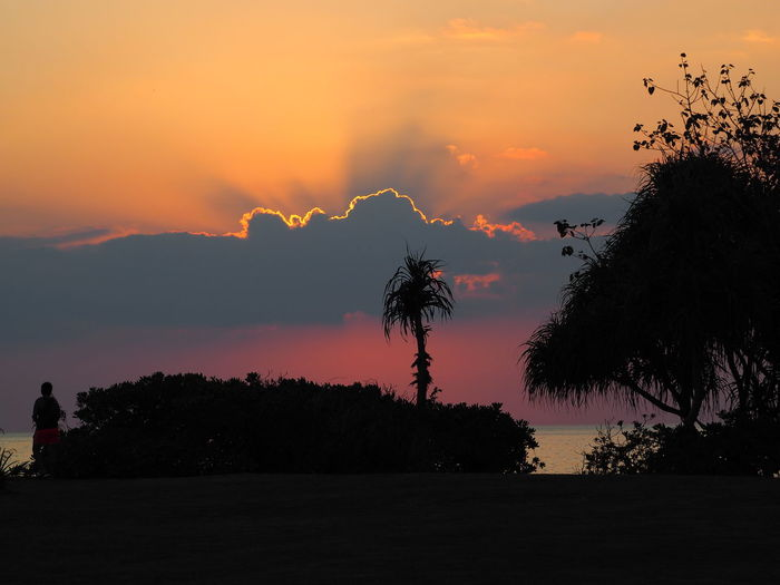 Sunset Silhouettes Sunset And Clouds  Sunset_collection Sunset Sunset #sun #clouds #skylovers #sky #nature #beautifulinnature #naturalbeauty #photography #landscape Sunset And Sea Sunset And Trees Sunset_captures