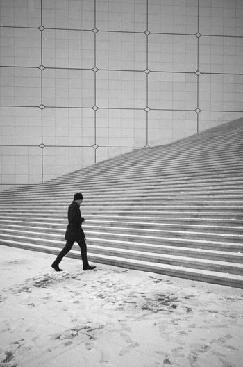 La Défense Stairs Monochrome Streetphotography