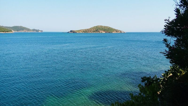 Island Grecia Greece Skiathos Horizon Over Water Water Sea Scenics Tranquil Scene Beauty In Nature Blue Clear Sky Tranquility Seascape Idyllic Waterfront Mountain Non-urban Scene Calm Tourism Coastal Feature Shallow Nature Vacations Summer sea