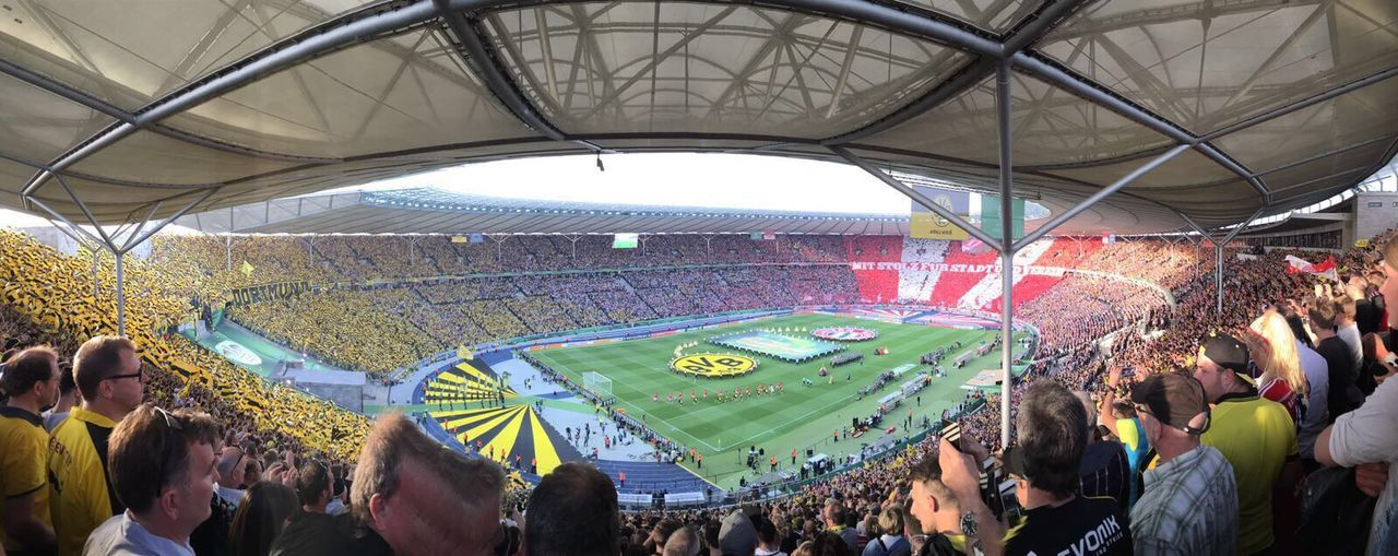Matchday Olympiastadion Berlin DFB