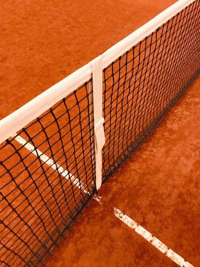 Net tennis court