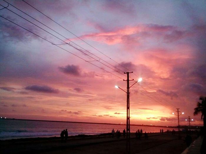 Porbandar Chopati Sunset