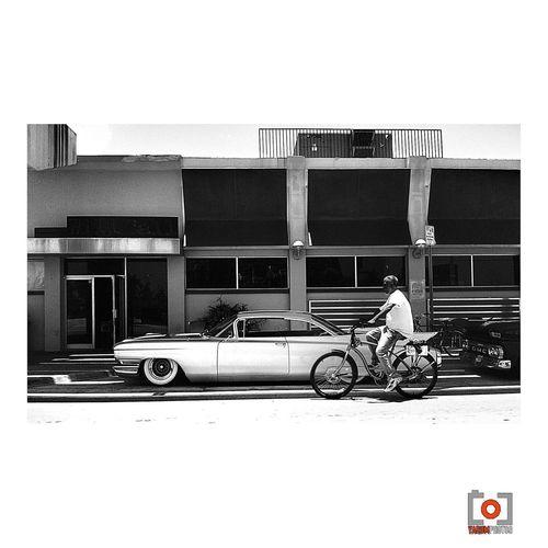 old school Streetphotography Photo Miami