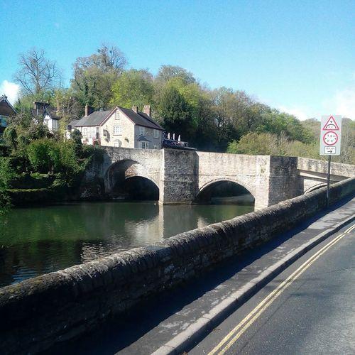 Bridge Shropshire Ludlow England River River Severn
