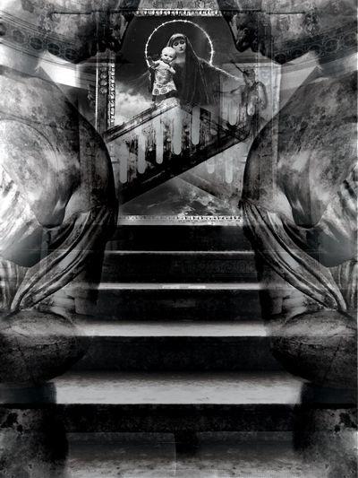 Neo-Iconoclastic #edit Photooftheday Photoart Religious  Blackandwhite