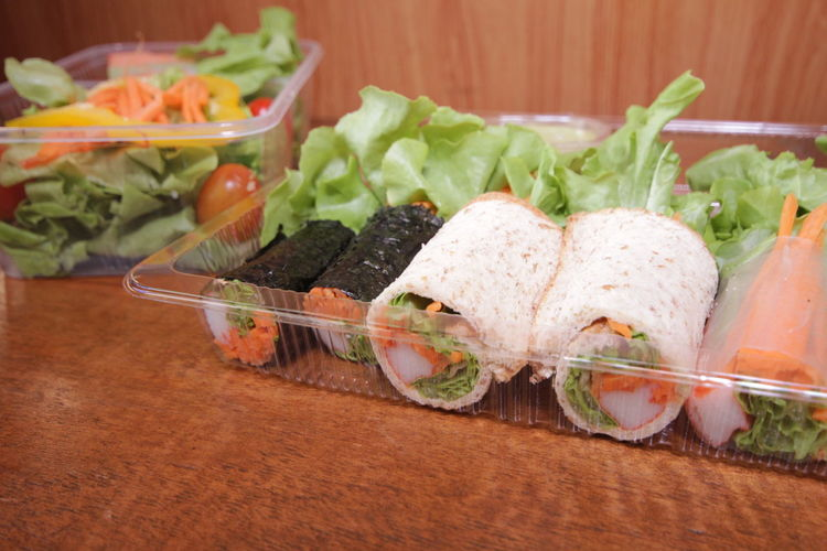 Salad roll and