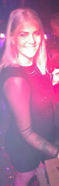 Part Pinklights Girlsnightout Dress Blond That's Me Mommy