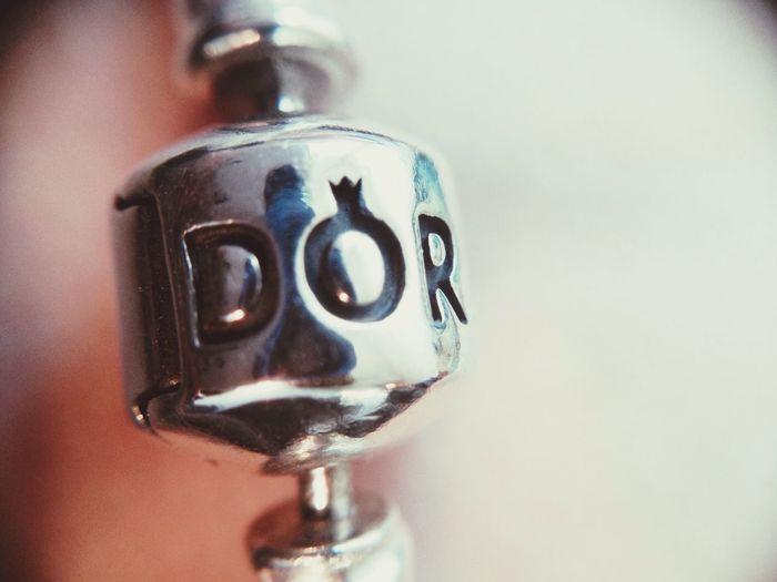Pandora Bracelet Attache Gravure Argent