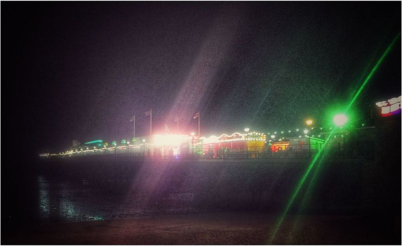 Paignton Devon at Night Pier Lights Colors Colorful Bright Nightphotography Night Lights Night View Eyeemphotography EyeEm Eye4photography  EyeEm Gallery