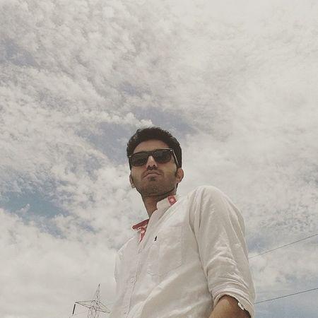 Le  Me First Selfie Sunny Afternoon Sky Instaclick Instalike Idli Dosa Dhokla Timepass Hastag  Mumbaikar Marathi Maharashtra JaiHind