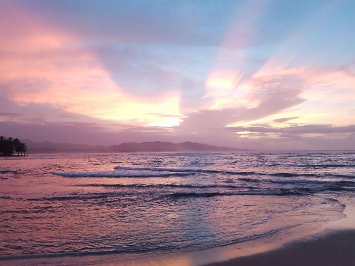 Beautiful Caribbean Sunset Puerto Viejo Costa Rica First Eyeem Photo