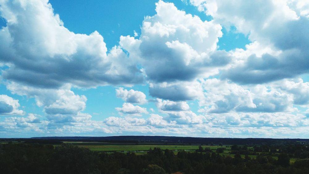 Cloud - Sky Landscape Day Sky No People Beauty In Nature Nature Clouds Clouds And Sky Clouds & Sky Blue Sky Blue Outdoors The Week On EyeEm