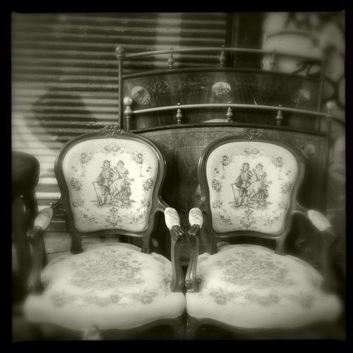 The two chairs. EEA3 EEA3 - Athens