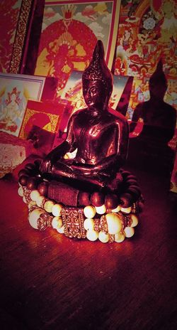 Religion Spirituality Indoors  Buddha Statue Art And Craft Art Place Of Worship Creativity Red Buddhayana Buddhas Buddhastatue EyeEmBestPics Eyeem Market EyeEm Gallery EyeEm Best Edits Eyeem New Talent New Talent This Week Eyeem Collection Eyeem Photography EyeEm Best Shots Selective Focus IMography Themagicmission