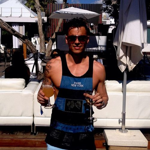 Blue Marlin!!!! Holiday Ibiza SPAIN Vacations Blue Marlin Casual Clothing Day Front View Leisure Activity Lifestyles Looking At Camera One Person Outdoors Portrait Real People Sunglasses Young Adult