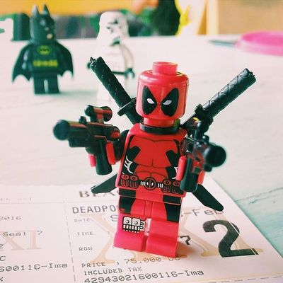 Wham! Deadpool Deadpoolmovie Red LEGO Brick Minifig Minifigures Weapons MOVIE Toycrewbuddies Toyphotography Toyslagram_lego Legophotography Toys Khwl HotWheels Toygroup_alliance ToygraphyID Toygram Photographylovers Photooftheday Picoftheday Igers Bali INDONESIA photosunday