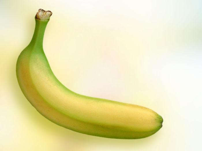 Banana Close-up