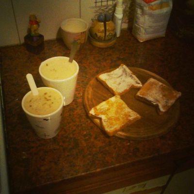 Merendando con mamucha! Cafe y Tostadas Coffee & Toast Kaffee