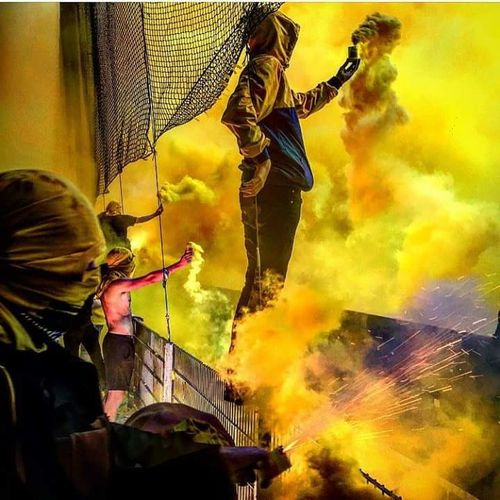 The Color Of Sport Ultras Pyro Show Our Life, Our Fight Beauty Of Sport