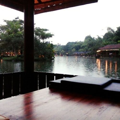 Rainy Days at Westlakeresto  Yogyakarta, Indonesia