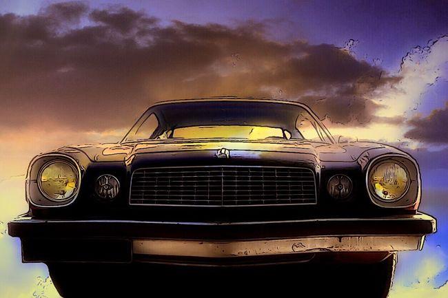 Transam Voiture Retro Old Car Voiture Ancienne