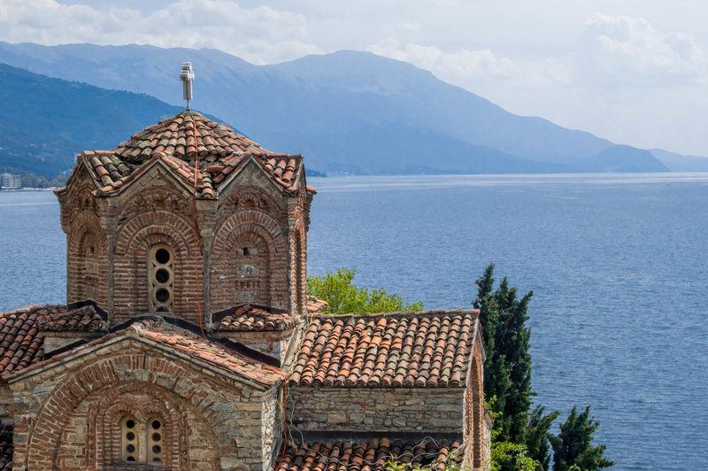Building Exterior Macedonia Ohrid Ohrid Lake Ohrid Macedonia Orthodox Orthodox Church Scenery Scenery Shots Scenics Sea
