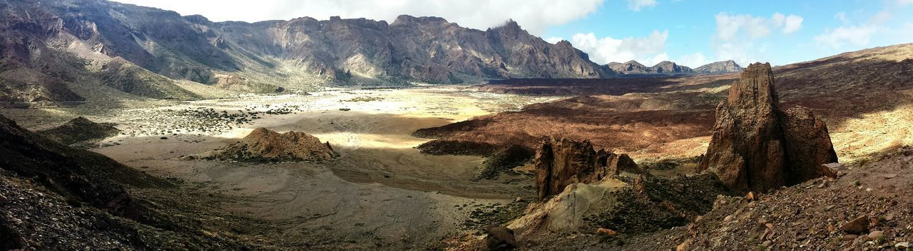 Panoramic View Of Teide National Park