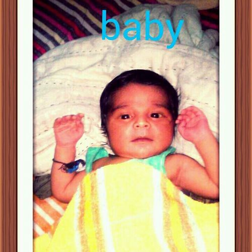 Plz pray for this cute baby he is my bhagna First Eyeem Photo