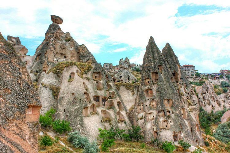 Capadoccia Turkey Nevşehir Göreme Cave House Volcanic