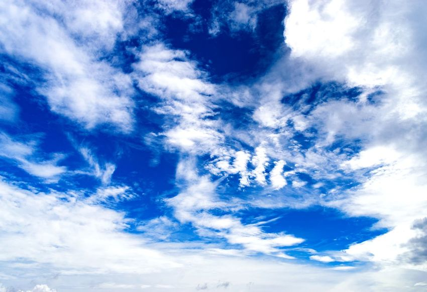 Beautiful Sky Scenics - Nature Majestic Nature Blue Sky Summertime Blue High Astrophotography Sunny Day Backgrounds Blue Sky Only Abstract Sky Cloud - Sky Heaven Dramatic Sky Atmospheric Mood