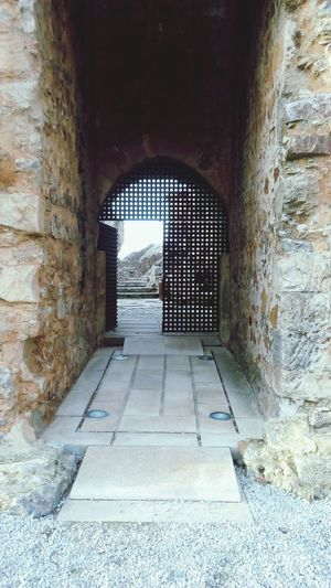 Portas de entrada para o Castelo de Figueira de Castelo Rodrigo